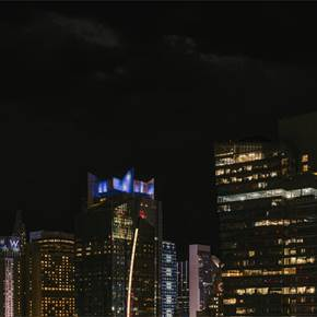 Midtown At Night, New York City (2020-2-GNY-61), original Architecture Digital Photography by Vlad Meytin