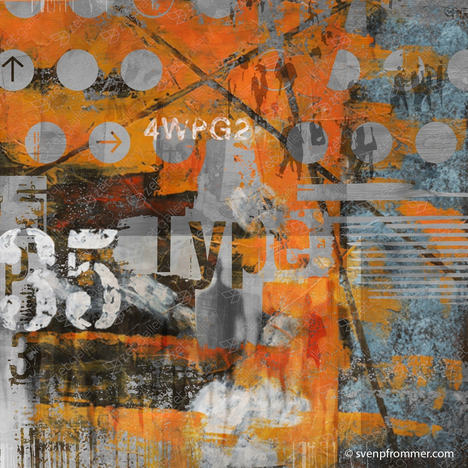 MOVE ON 56, original Abstract Digital Photography by Sven Pfrommer