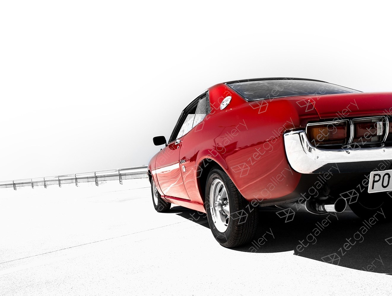 Toyota Celica GT 01, original Avant-Garde Digital Photography by Yggdrasil Art
