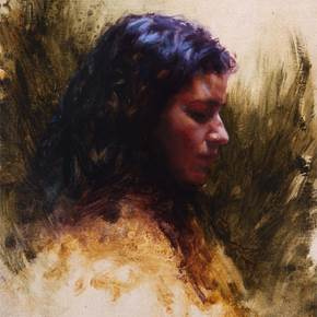 Feels Like Home #1, original Portrait Oil Painting by Rafael  Oliveira