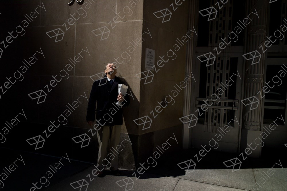 Church St, New York City, original Man Digital Photography by Dimitri Mellos