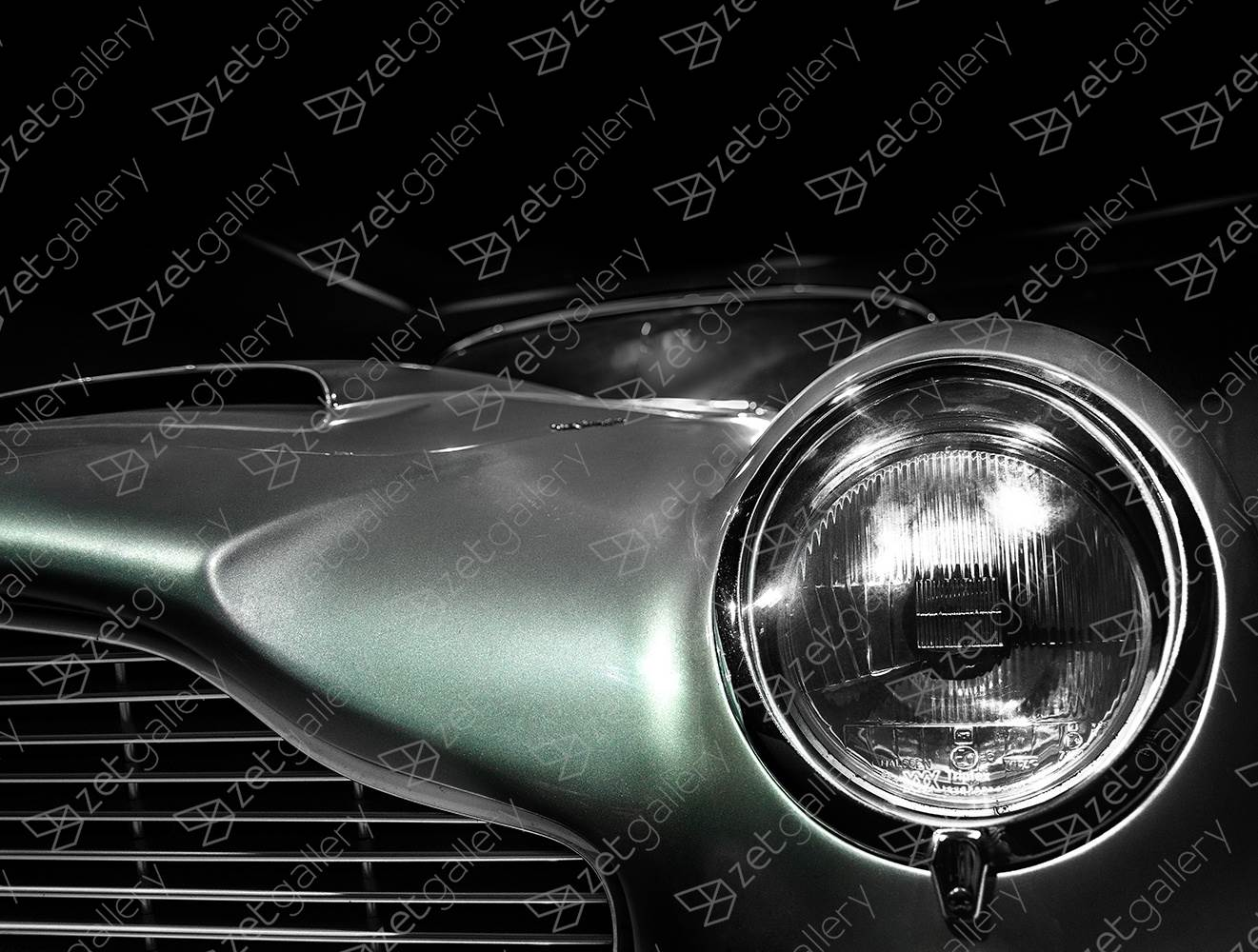 Aston Martin DB6 01, original Avant-Garde Digital Photography by Yggdrasil Art