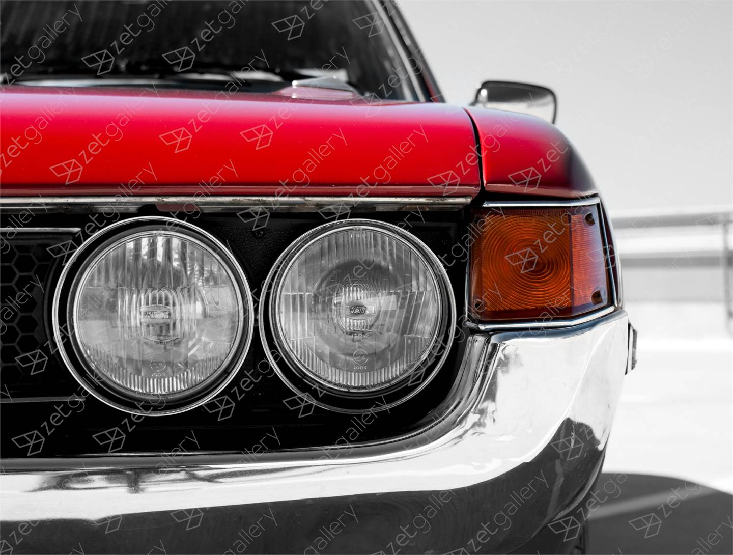 Toyota Celica GT 02, original Avant-Garde Digital Photography by Yggdrasil Art