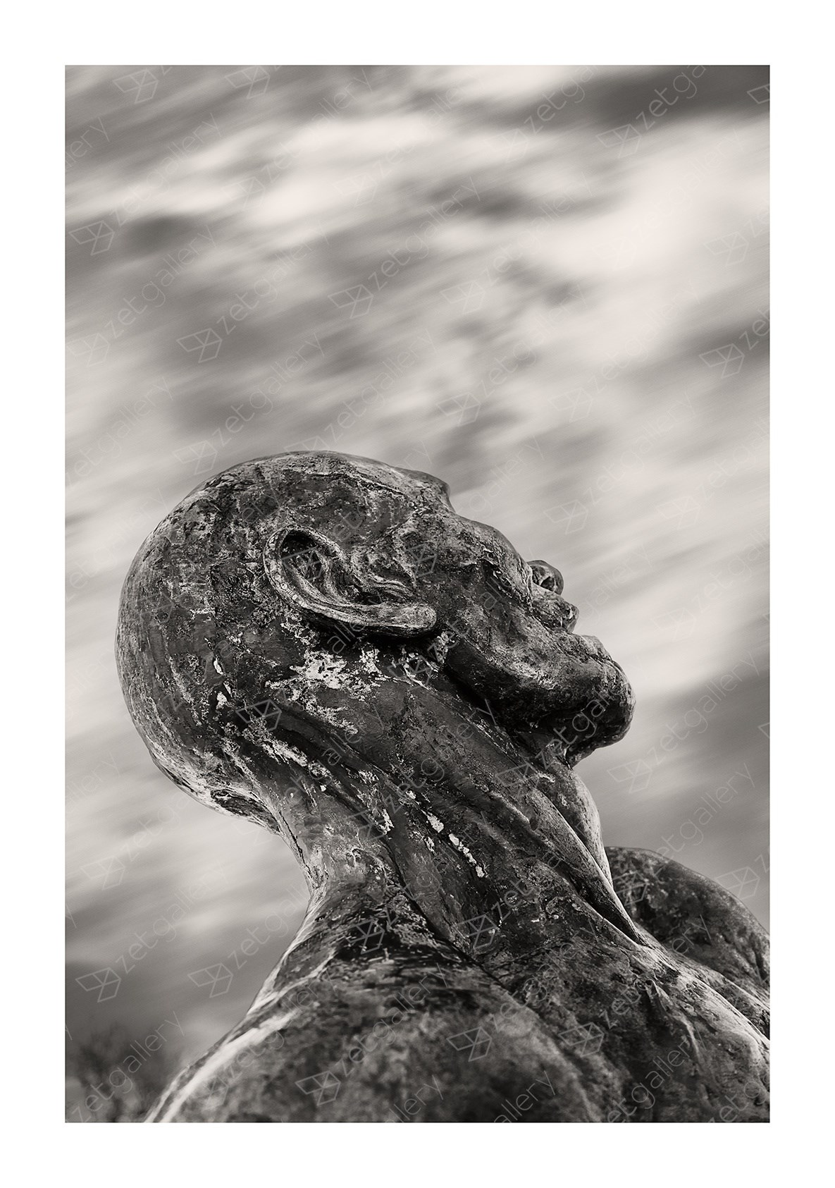 The Wondering Man, original B&W Digital Photography by Jorge Viegas