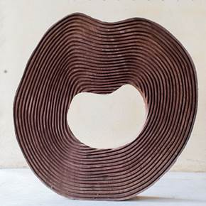 Série Rodas, original Nature Wood Sculpture by Paulo Neves