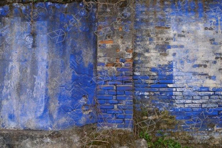 Wall of the Cultural Revolution 12, original Abstract Digital Photography by John Brooks