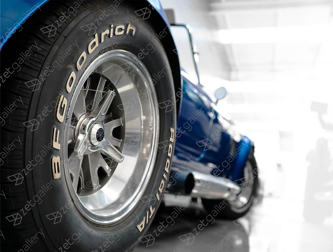 Shelby Cobra 427 01, original Avant-Garde Digital Photography by Yggdrasil Art