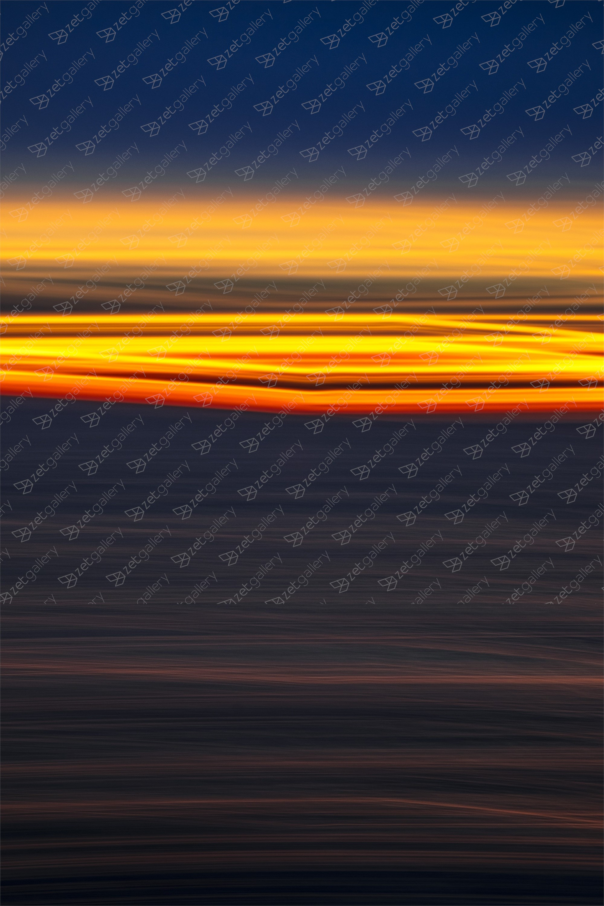 ABSTRACT SUNRISE II, Large Edition 1 of 5, Fotografia Digital Abstrato original por Benjamin Lurie