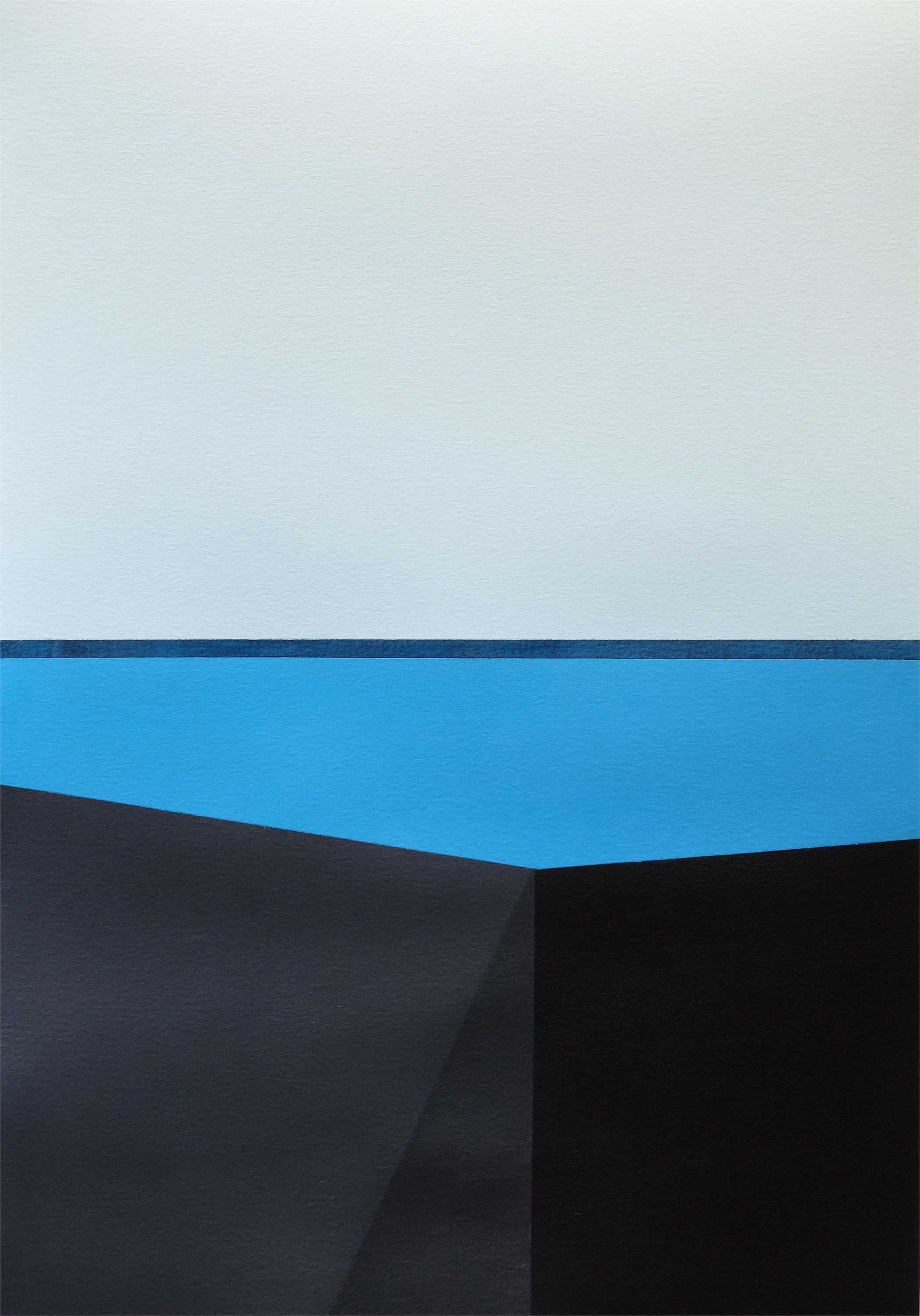 Minimal Landscapes Series · MLS P0354, original Abstract Acrylic Painting by André Lemos Pinto