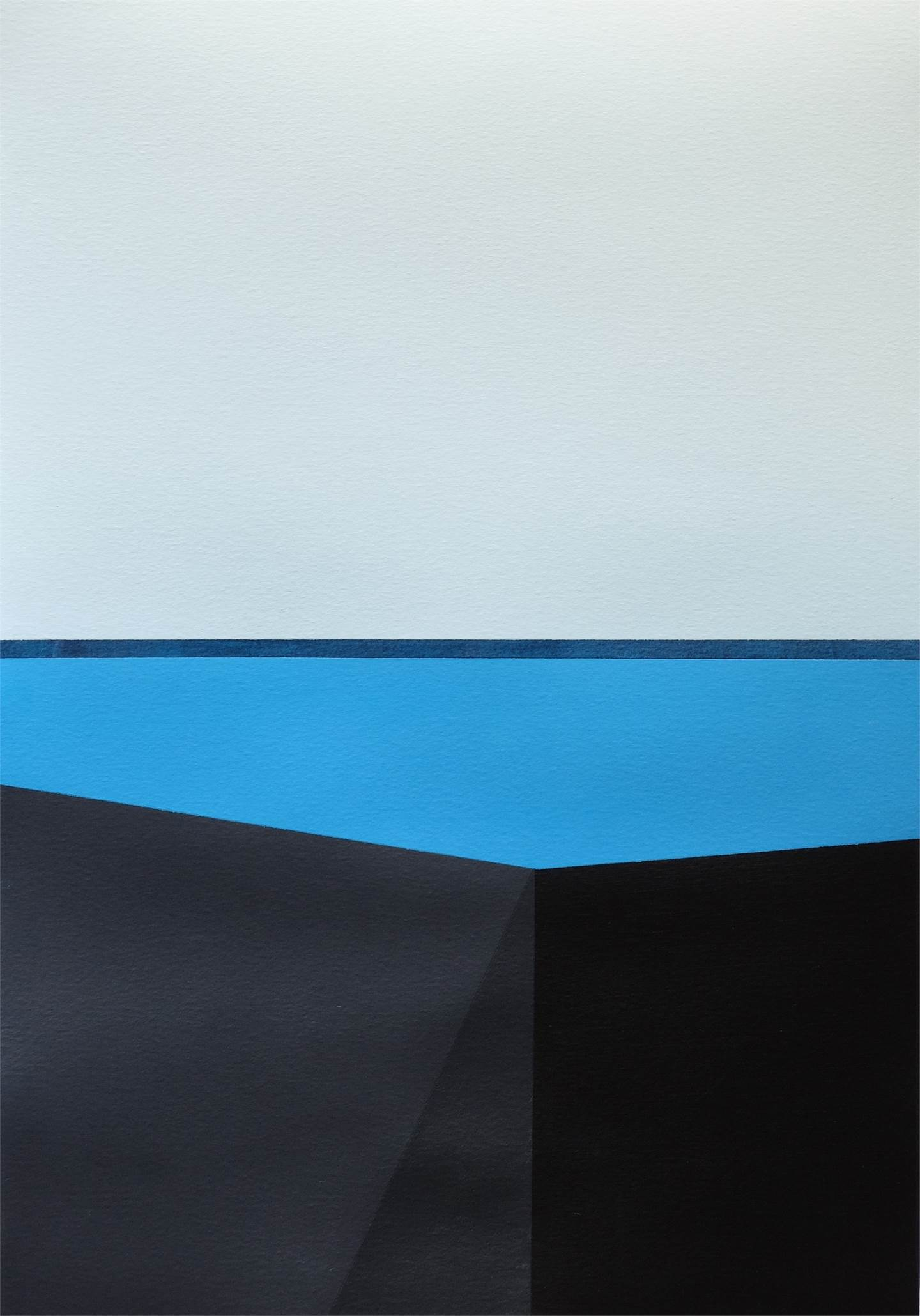 Minimal Landscapes Series · MLS P0354, original   Painting by André Lemos Pinto