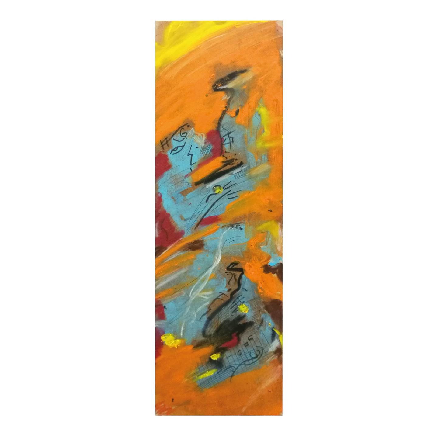 Sem título, original Abstract Oil Painting by Acácio  Viegas