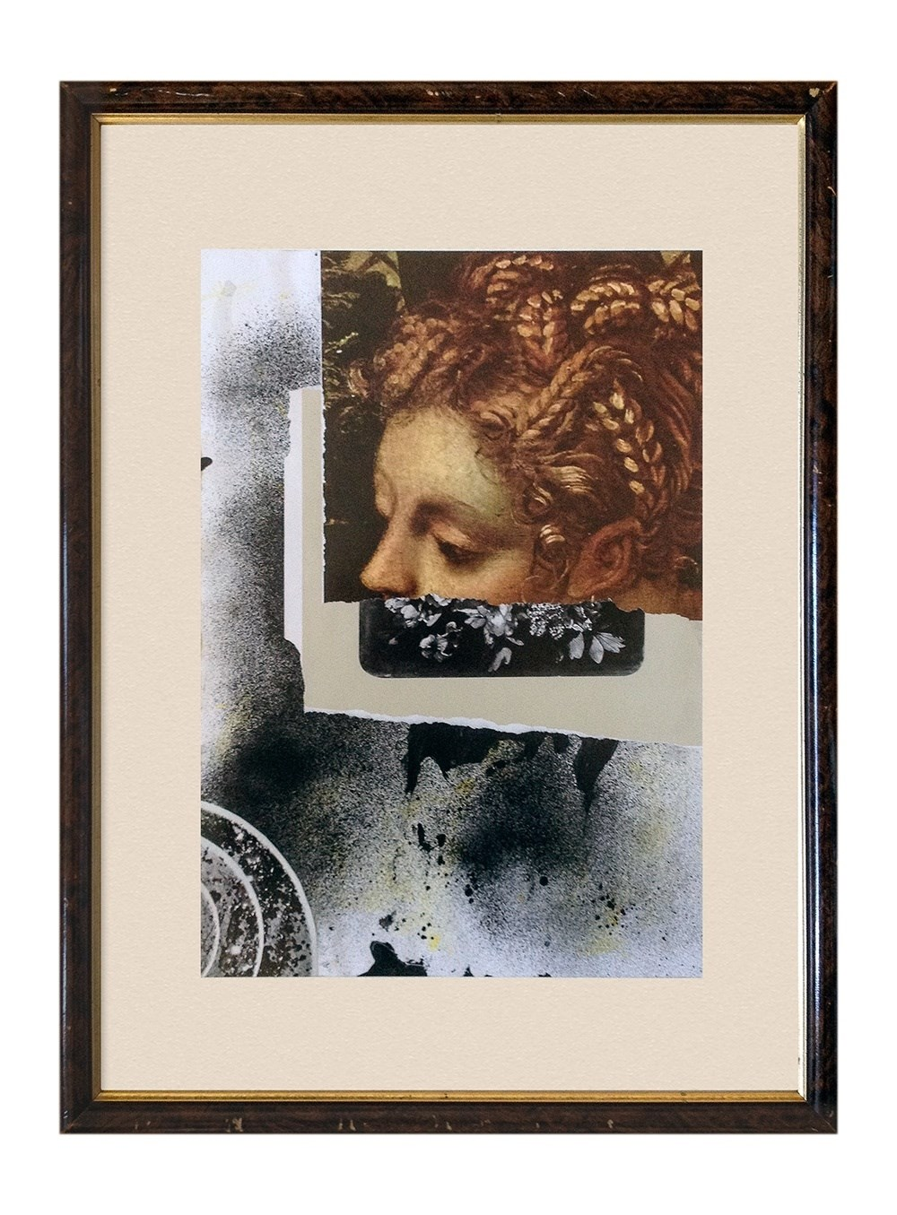 Strangers to Ourselves, original Abstract Collage Drawing and Illustration by Nuno Moreira