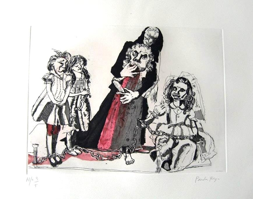 As meninas noivas 1 , original  Lithography Drawing and Illustration by Paula Rego