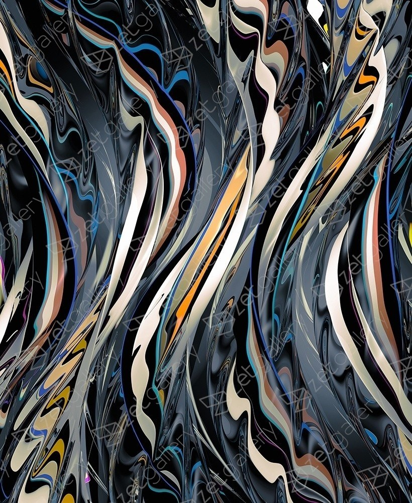 Lyric / deep base, original Abstract Digital Photography by Chuck Elliott