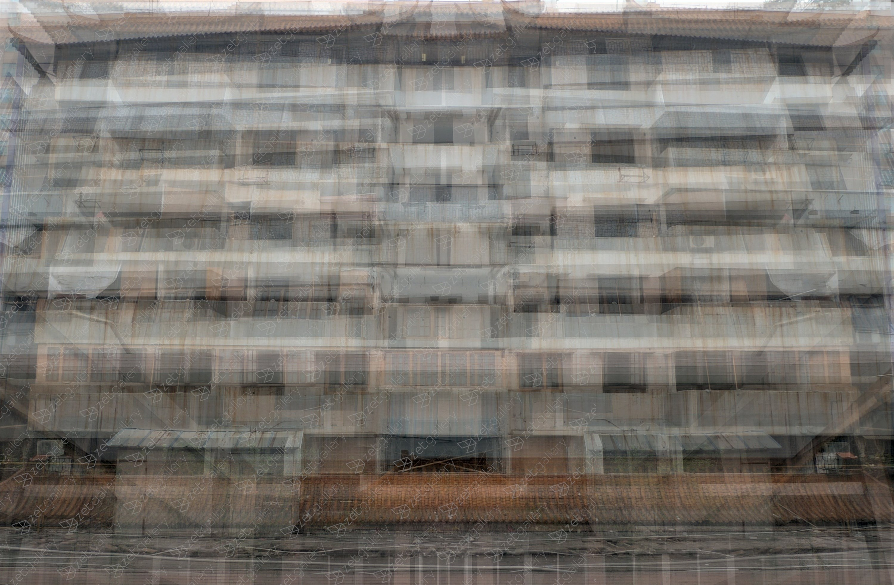 Foshan flats 6, original Architecture Digital Photography by John Brooks