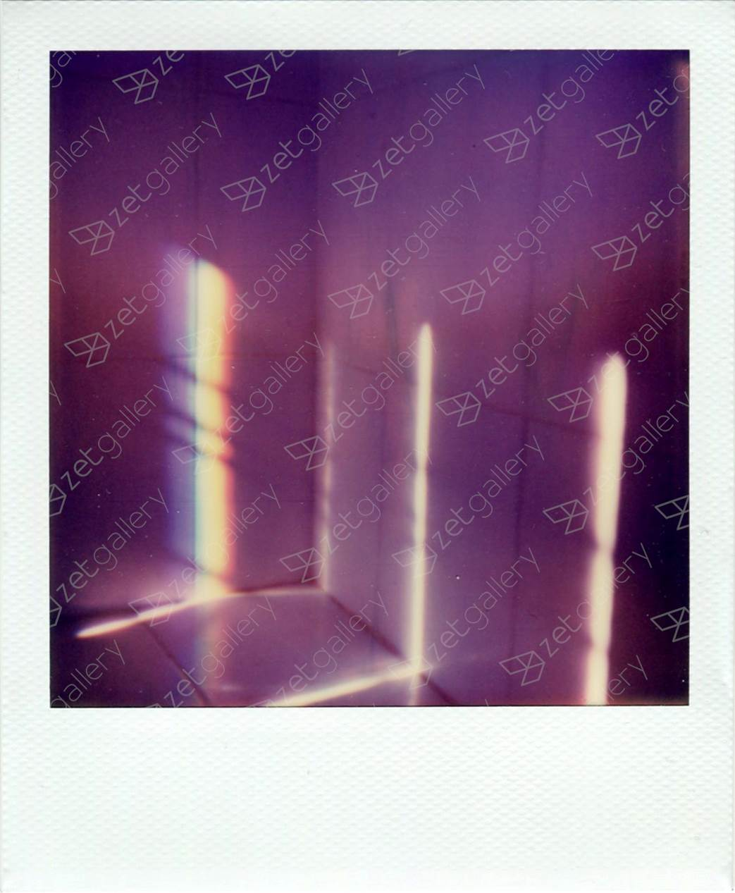 Polaroid 2, original Abstract Analog Photography by Yorgos Kapsalakis