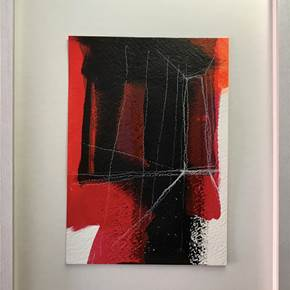 Way Out #4, original Abstract Acrylic Painting by Ana Bonifácio