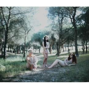 Le Jardin (IV), original Body Analog Photography by Ursula  Mestre