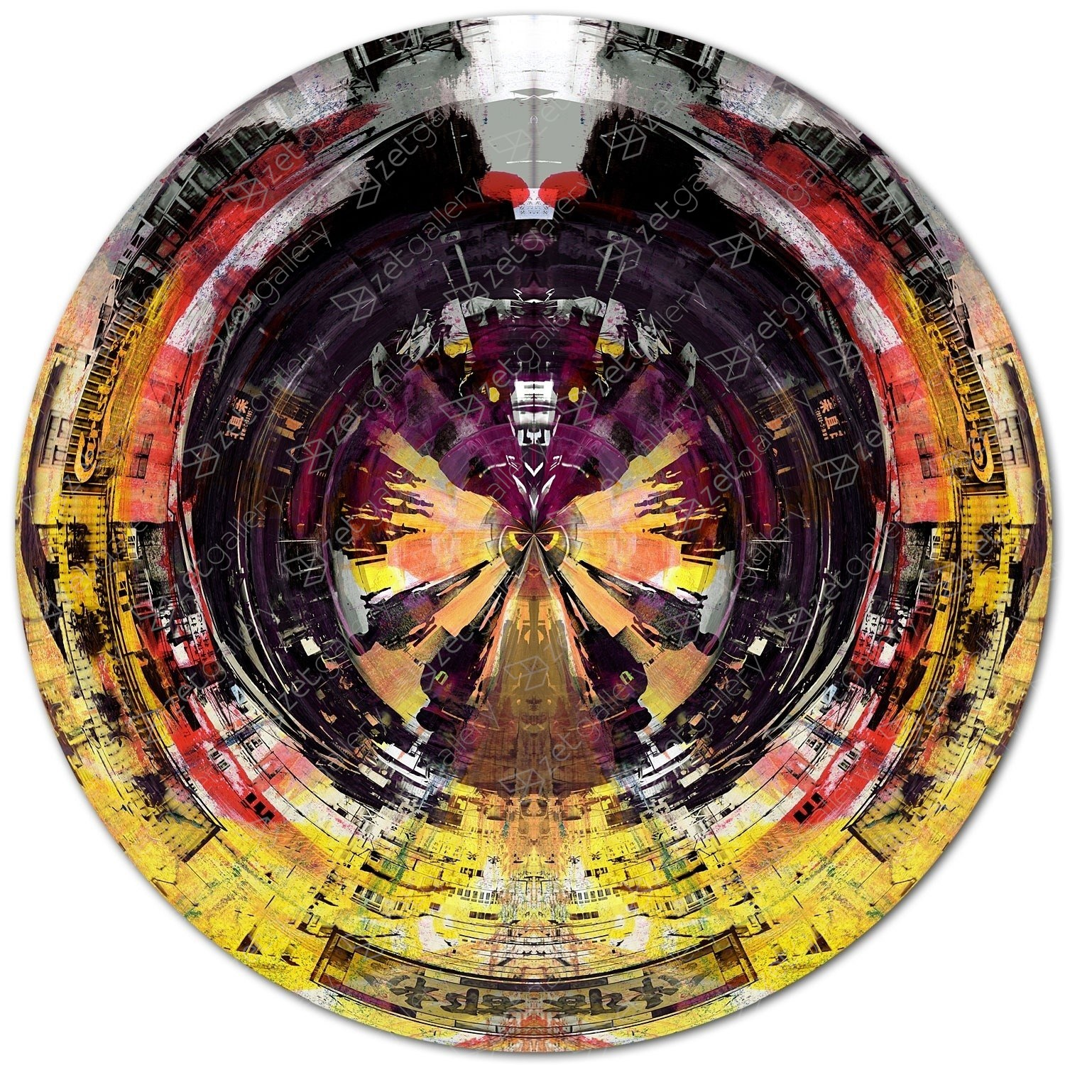 CIRCULAR 10, original Abstract Digital Photography by Sven Pfrommer