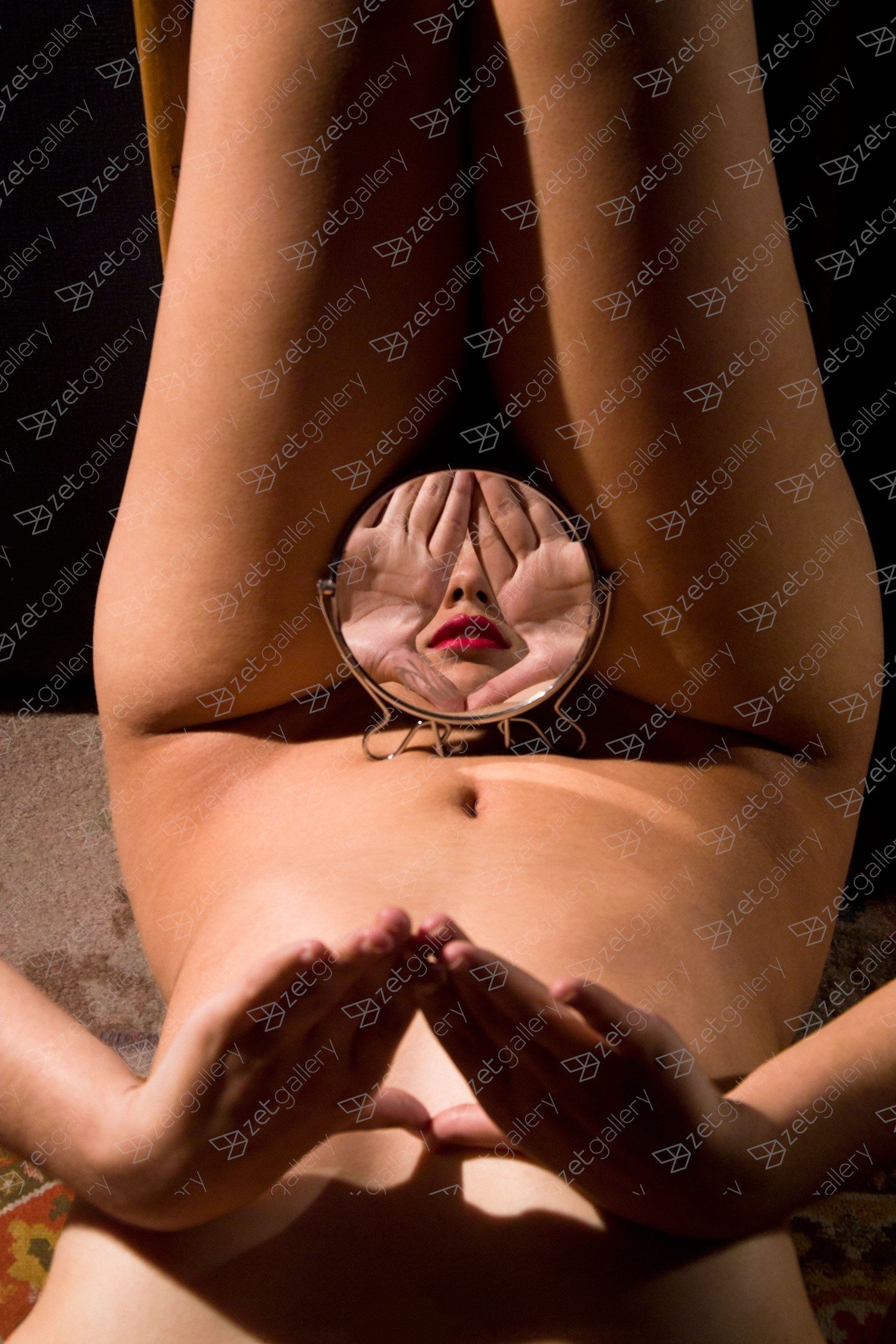 Zex Mirror, original Body Digital Photography by Alva Bernadine