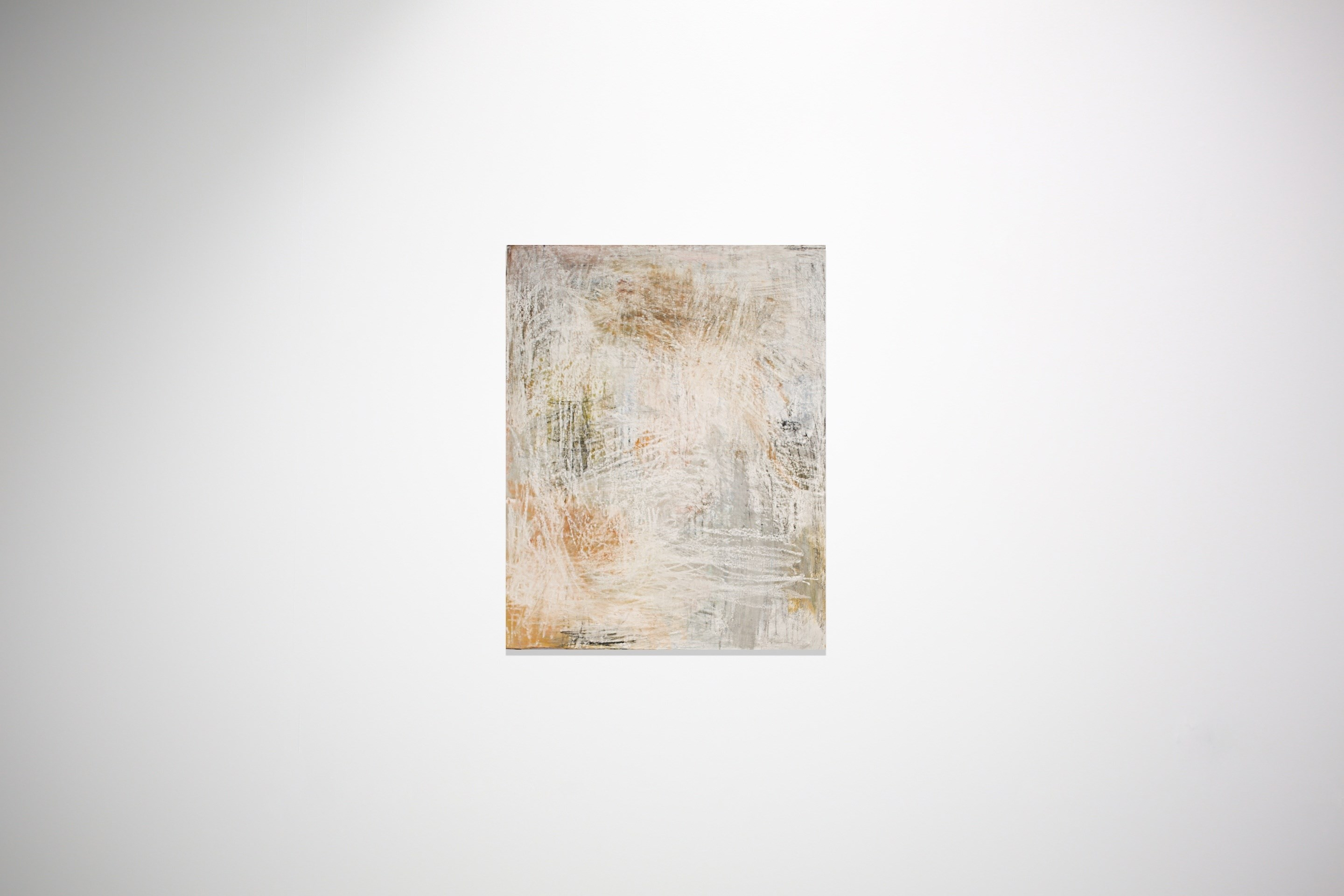 S/ Título, original Abstract Mixed Technique Painting by José António Cardoso