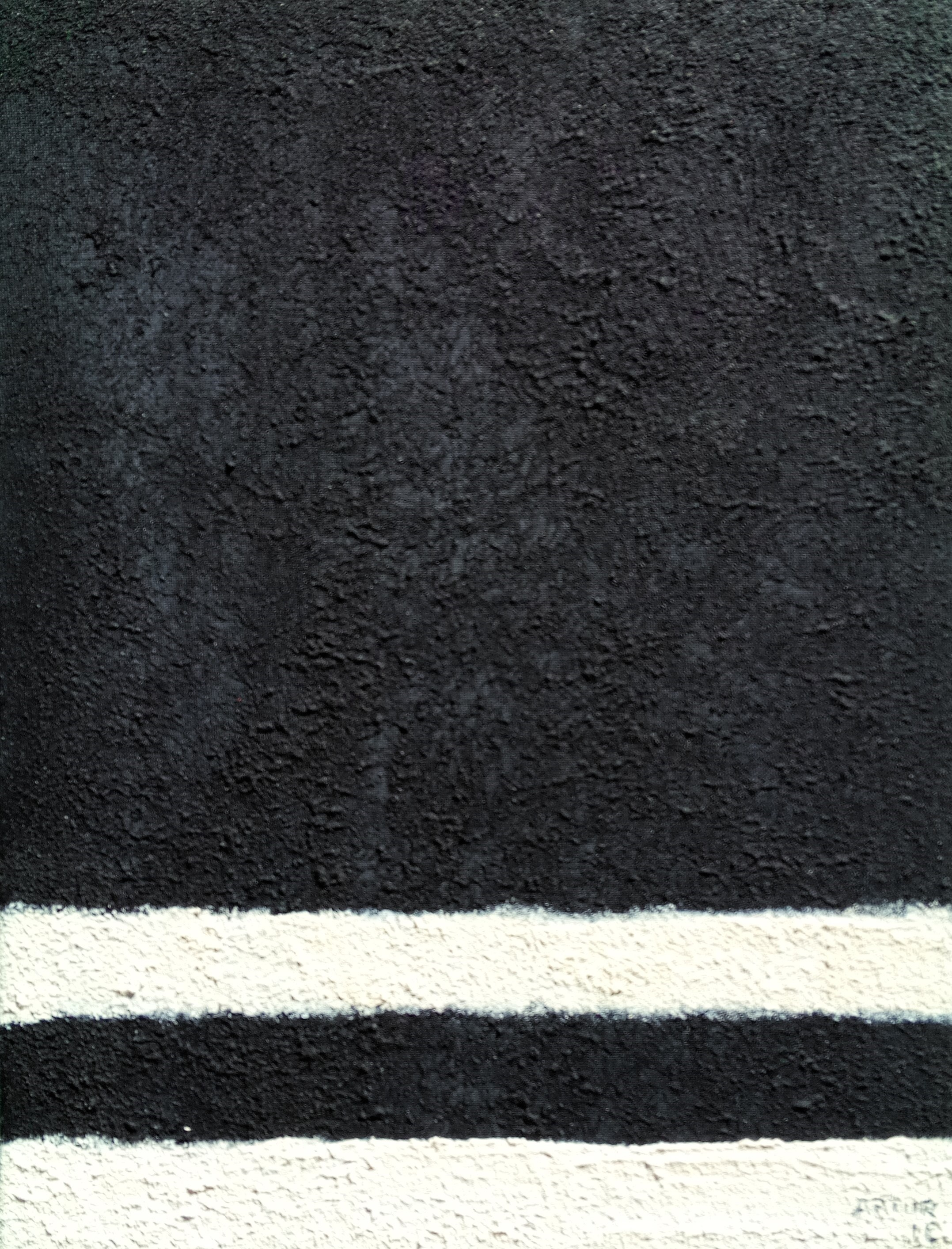 The road, Pintura Acrílico Abstrato original por Artur Efigénio