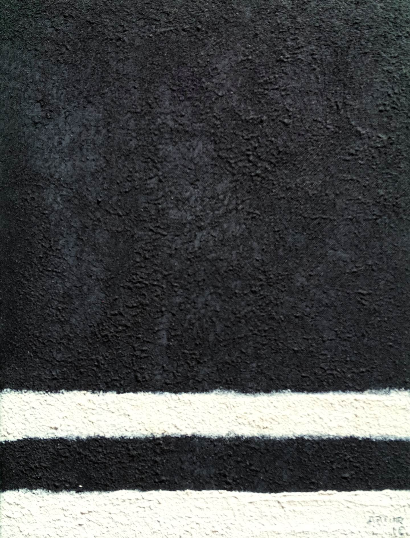 The road, original Abstract Acrylic Painting by Artur Efigénio