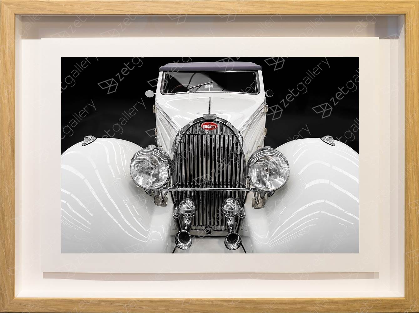 Bugatti Type 57 Stelvio Cabriolet 01, original Avant-Garde Digital Photography by Yggdrasil Art