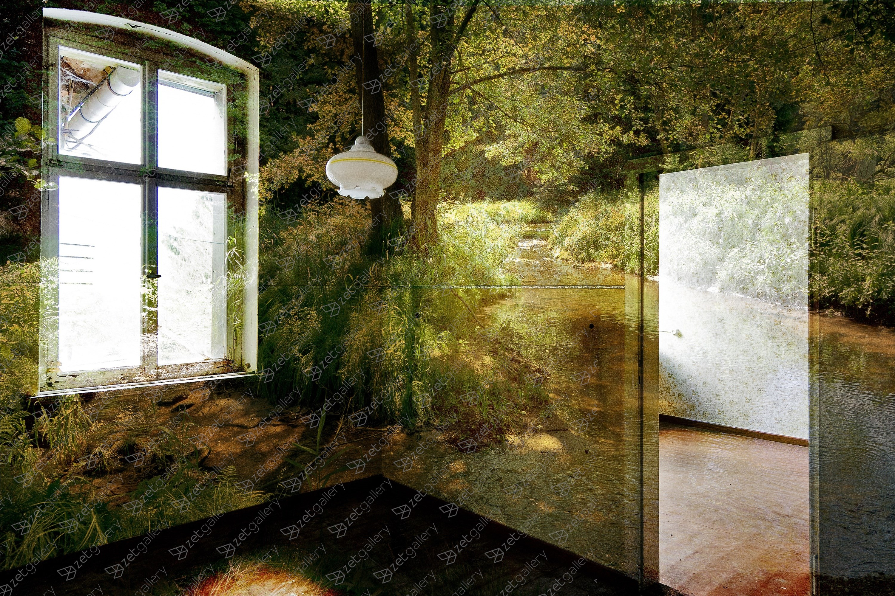 ZWSW #98, original Abstract Digital Photography by Sebastian Weise