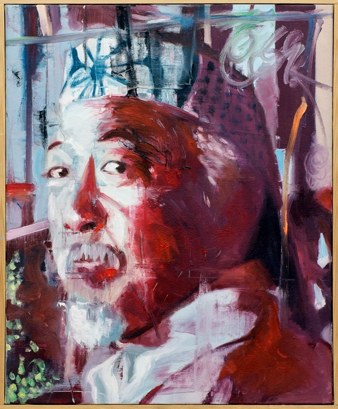 Maitre Miyagi, original Portrait  Painting by Ricardo Gonçalves