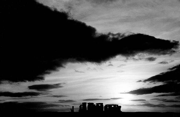 Stonehenge, original Architecture Analog Photography by Heinz Baade