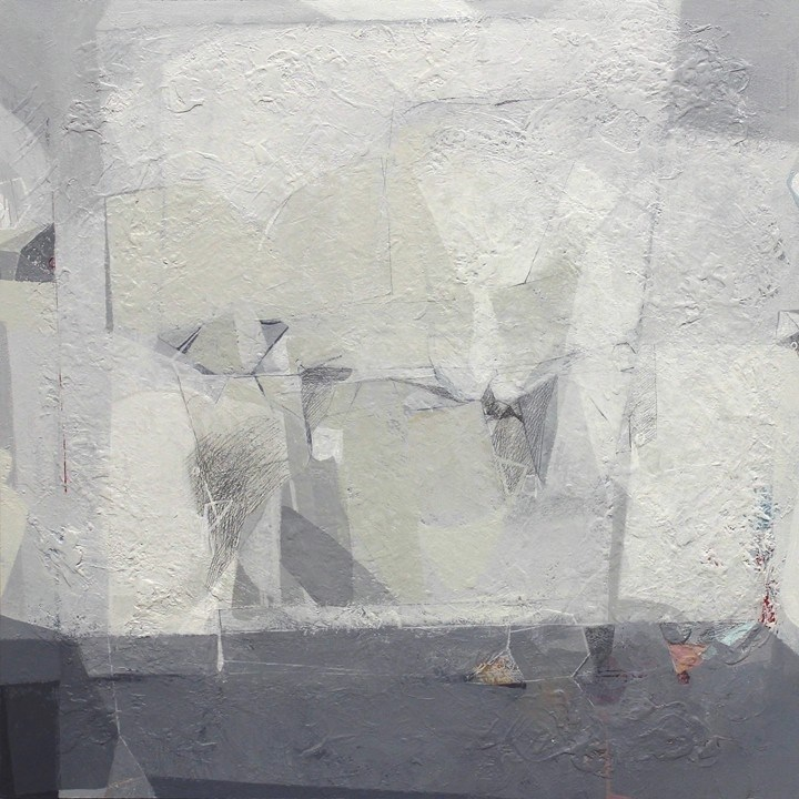 White II, original Abstract Acrylic Painting by Rui Tavares