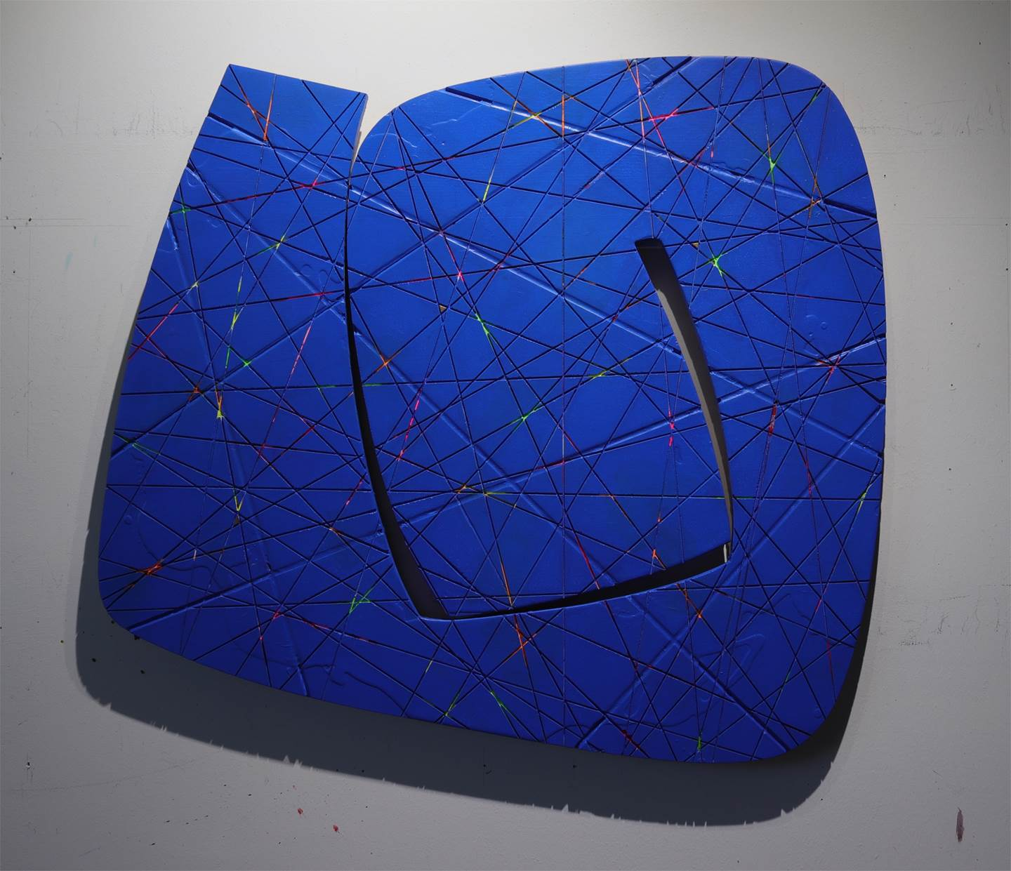 Constellation #1, original Abstract Acrylic Sculpture by Yury  Darashkevich